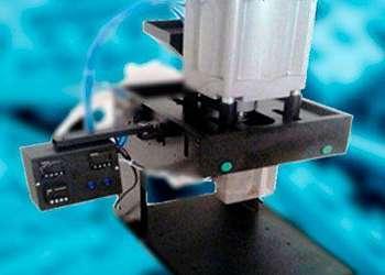 Máquina injetora de plástico pequena